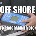 Off Shore Auto Key Programmer Clones | Mr. Locksmith Delta