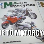 Locksmith Guide to Motorcycles | Mr. Locksmith Delta Blog