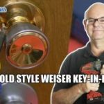 Rekey Old Wesier Key in Knob Locks Delta